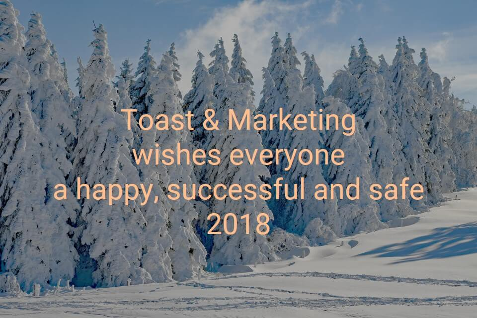 happy new year from toast and marketing